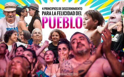 4 PRINCIPIOS:   DISCERNIMIENTO, CONSTRUCCION Y  FELICIDAD DEL PUEBLO